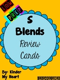 S Blends Review Cards~LOW PREP