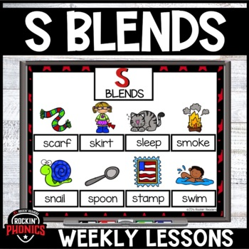 S Blends Activities and Games