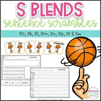 S Blends Sentence Scrambles
