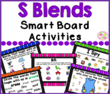S Blends Smart Board Activities Phonics and Sounds