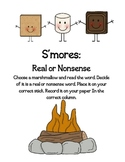 S Blends S'mores Literacy Game
