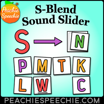S-Blends Sound Slider: Visual for Articulation