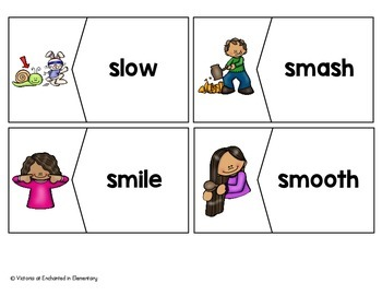 S-Blends Vocabulary Puzzles
