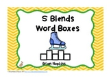 S Blends Word Boxes