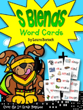 S Blends Word Cards