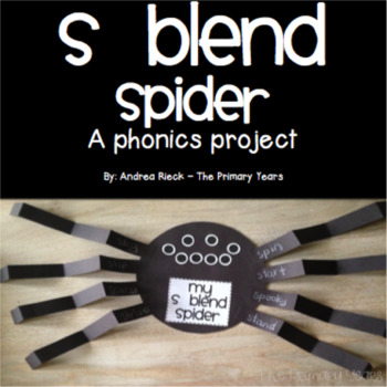 S Blends Word Work Craftivity - A Phonics Project