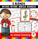 S Blends Word Work Mega Bundle