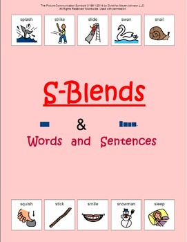 S-Blends: Words and Sentences