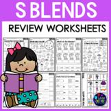 S Blends Worksheets (Consonant Blends Worksheets)
