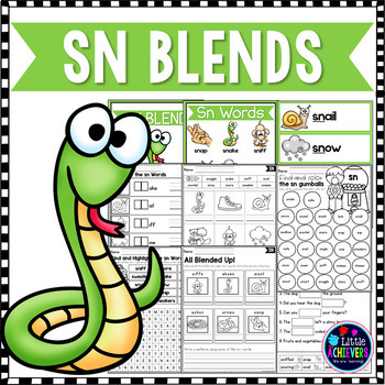 Sn Blend Teaching Resources Teachers Pay Teachers