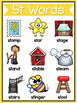S Blends Worksheets - ST Blend Words