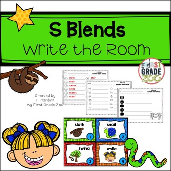 S Blends - Write the Room