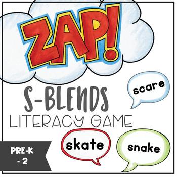 S-Blends - ZAP literacy game