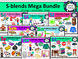 S Blends clipart - Mega bundle of Sc, Sk, Sl, Sm, Sn, Sp,