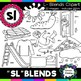 S Blends clipart - Sl words - 20 images! Personal and Commercial use