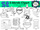 S Blends clipart - St words - 24 images! Personal and Comm