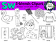 S Blends clipart - Sw words - 20 images! Personal and Commercial use