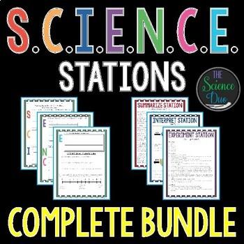 S.C.I.E.N.C.E. Station Lab Bundle - Bundle of 60+ Science Station Activities