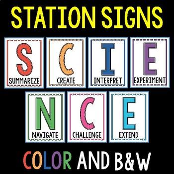 S.C.I.E.N.C.E. Stations - FREE Quick Start Guide