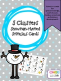 S CLUSTERS WINTER CARDS