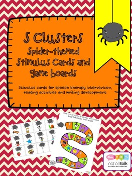 S CLUSTERS SPIDER CARDS GAME BOARD