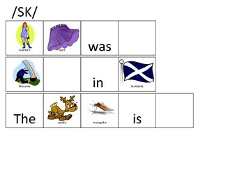 S Consonant Clusters-Fill in the Blank Sentences for Articulation Drills