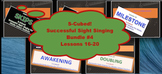 S-Cubed!  Lessons 16-20 Bundle #4  Successful Sight Singing for Middle School