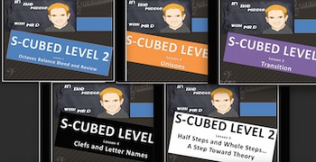 S-Cubed Level TWO  Bundle #1-Lessons 1-5  Sight Singing Pr