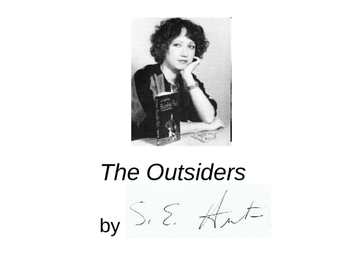 S.E. Hinton (The Outsiders) PPT