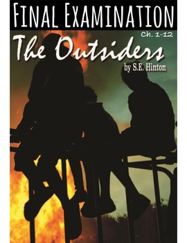 "S.E. Hinton's ""The Outsiders"" Final Exam (w/ Answer KEY)"