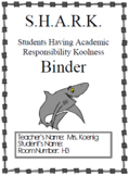 S.H.A.R.K Homework Folder (English and Spanish)
