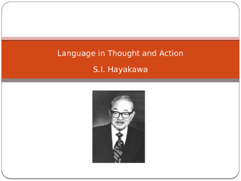 S.I.Hayakawa's Language in Thought and Action and Animal Farm