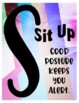 S.L.A.N.T Active Listening Classroom Posters