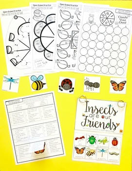 S.L.A.P. Insects {Speech Language Activity Pack}