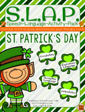 S.L.A.P. St. Patrick's Day {Speech Language Activity Pack}