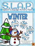 S.L.A.P. Winter {Speech Language Activity Pack}