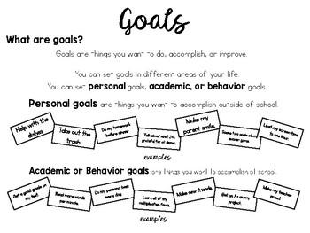 S.M.A.R.T. Goals Packet