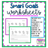 S.M.A.R.T Goals Worksheets