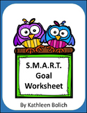 S.M.A.R.T Goals for IEP's