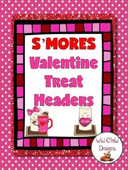 S'MORE Valentine Treat Headers
