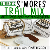 S'MORES Mix Gift Tags and Math Activities FREEBIE