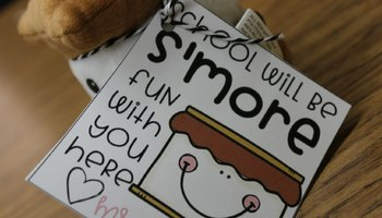 S'More Back to School Tag