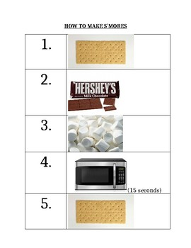 S'More Recipe Following Simple Directions