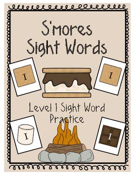 S'More Sight Words Level 1- NO PREP