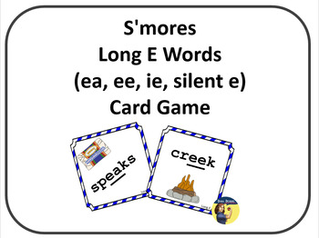 S'Mores Long E Word Card Game