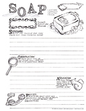 S.O.A.P Bible Journal Page (SOAP - Scripture Observation A