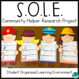 S.O.L.E. Community Helper Research Project (Distance Learning)