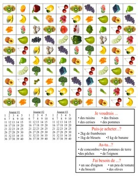 S.O.S. - Au marché (shopping for fruits and vegetables)