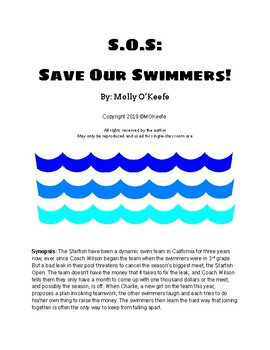 S.O.S. Save Our Swimmers! (Readers' Theater or Play with 20-25 parts)