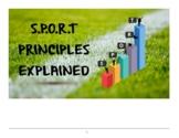 S.P.O.R.T Training Principles PDF